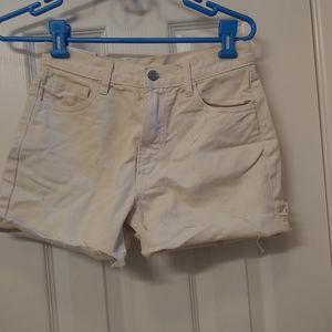 John galt hi waisted slim shorts nwt